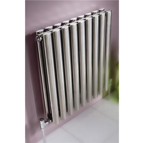 Aspen Double Panel Horizontal Designer Radiator - 6 size options