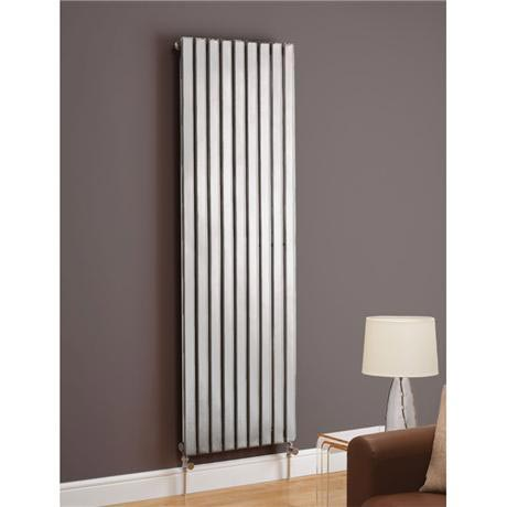 Boston Straight Designer Radiator - Chrome