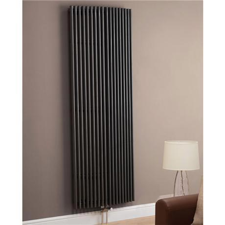 Chicago Straight Designer Radiator - 1806mm x 645mm - Anthracite