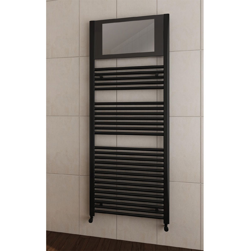 San Francisco Designer Heated Towel Rail with Integrated LCD TV Profile Large Image