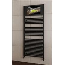 San Francisco Designer Heated Towel Rail with Integrated LCD TV Medium Image