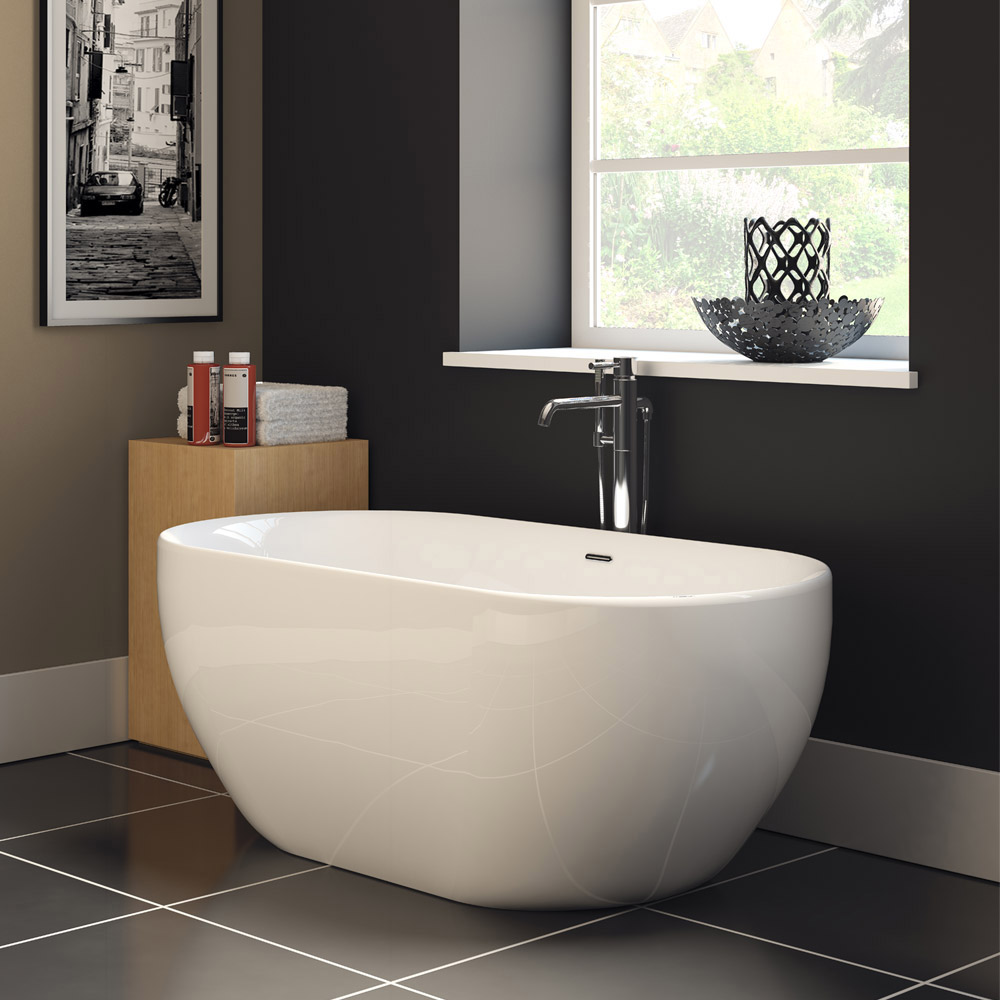 Amazing Ada Grab Bars For Bathrooms Tiny Beautiful Bathrooms With Shower Curtains Flat Big Bathroom Wall Mirrors Small Deep Bathtubs Young Painting Ideas For Bathrooms BrownPainting A Bathroom Sink Kendal Modern Double Ended Bath | Online At Victorian Plumbing.co