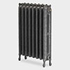 Paladin - Kensington Radiator with Crown - 780mm Height - Various Width and Colour Options profile small image view 1
