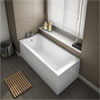 Kent Premiercast Single Ended Bath profile small image view 1