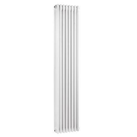Keswick Cast Iron Style Traditional 4 Column White Radiator (1800 x 372mm)