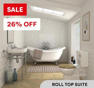 keswick roll top bath