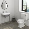 Keswick 4 piece traditional bathroom suite from for Small 4 piece bathroom
