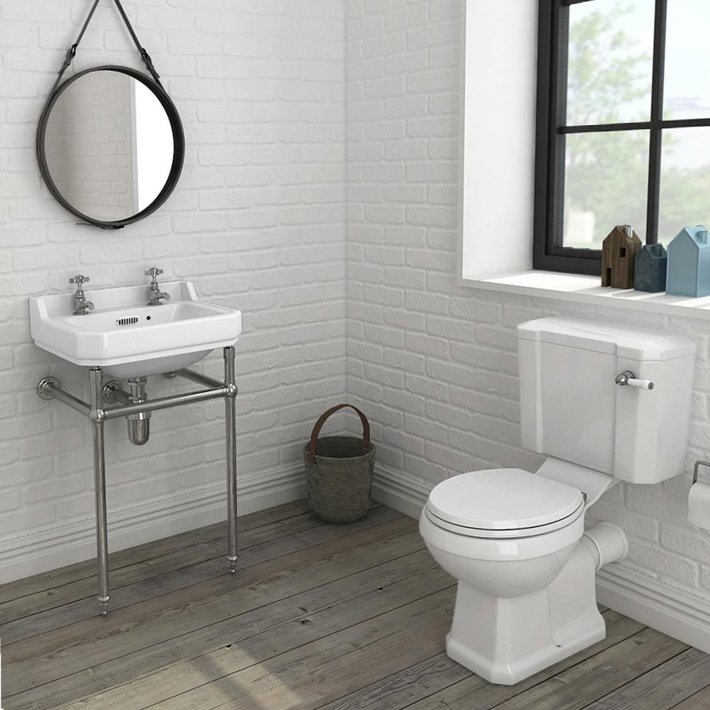 keswick 4 piece traditional bathroom suite from victorian plumbing. Black Bedroom Furniture Sets. Home Design Ideas