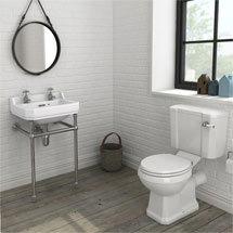 Keswick 4-Piece Traditional Bathroom Suite Medium Image