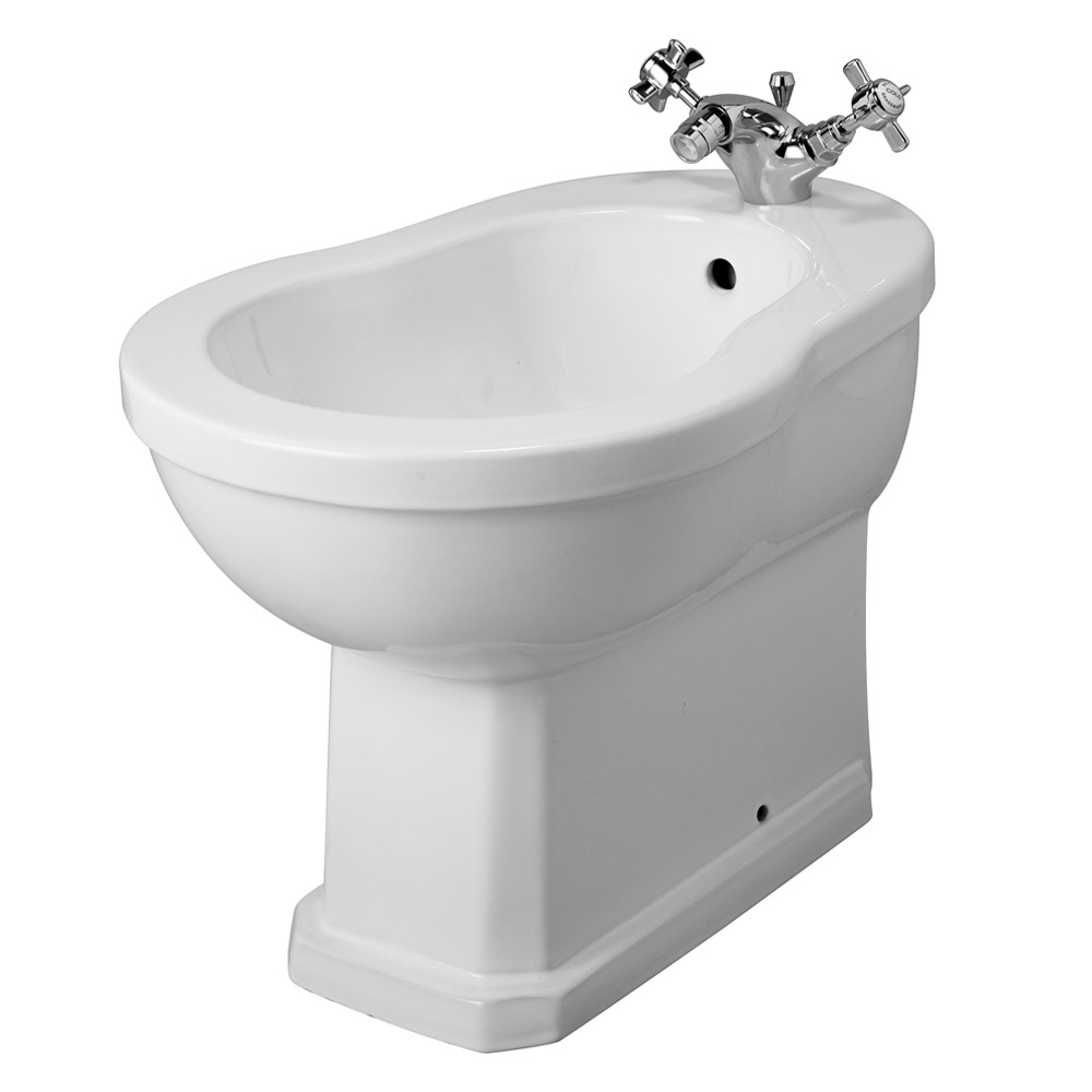 Keswick Traditional Bidet - 1 Tap Hole Large Image