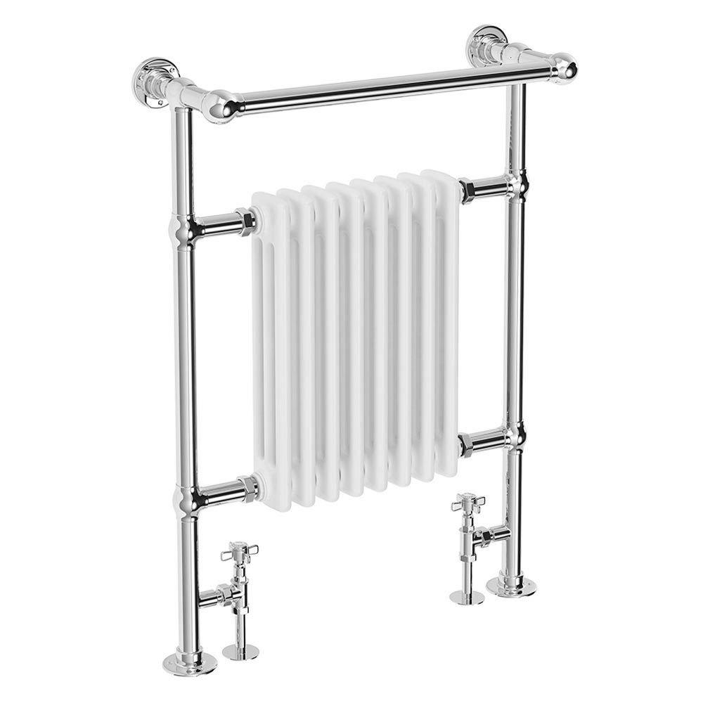 Heated Towel Rail Replace Radiator: Keswick Traditional Heated Towel Rail Radiator At
