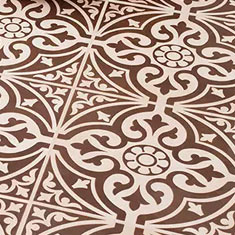 Kingsbridge Patterned Floor Tiles
