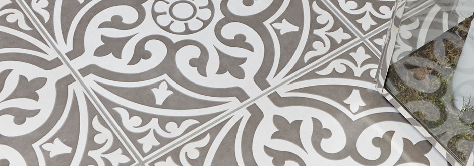 Kingsbridge Patterned Floor Tiles | Victorian Plumbing