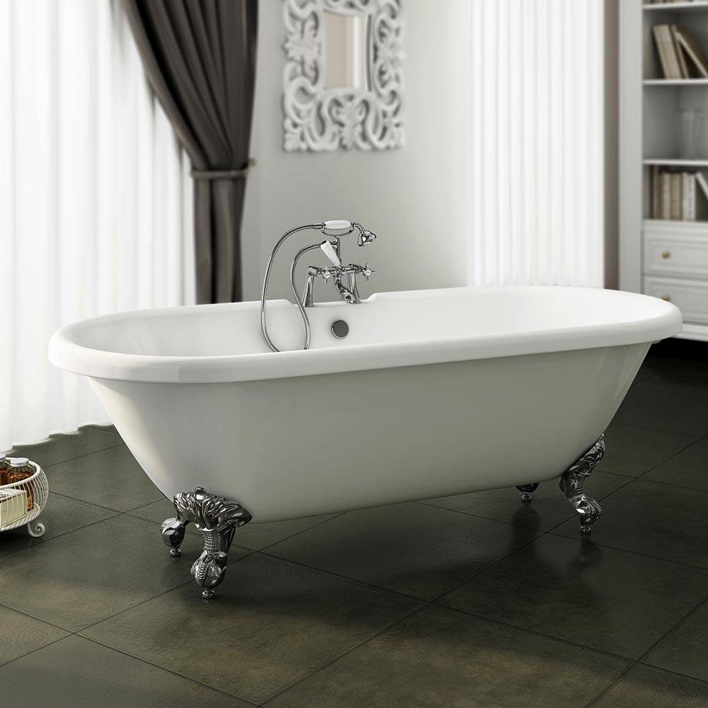 Duke 1795 Double Ended Roll Top Bath Victorian Plumbing