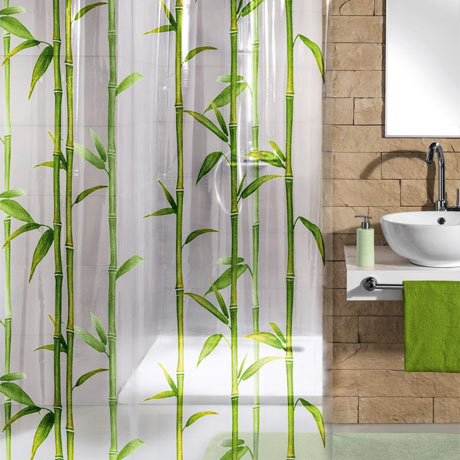 Kleine Wolke - Bambu PEVA Shower Curtain - W1800 x H2000 - 5249-625-305