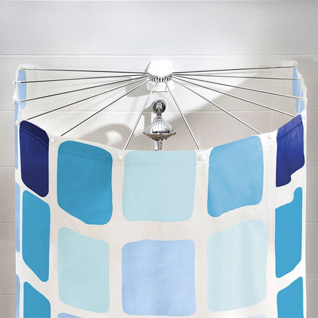 Kleine Wolke Big Spider Shower Curtain Frame