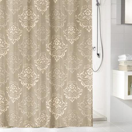 Kleine Wolke - Queen Polyester Shower Curtain - W1800 x H2000