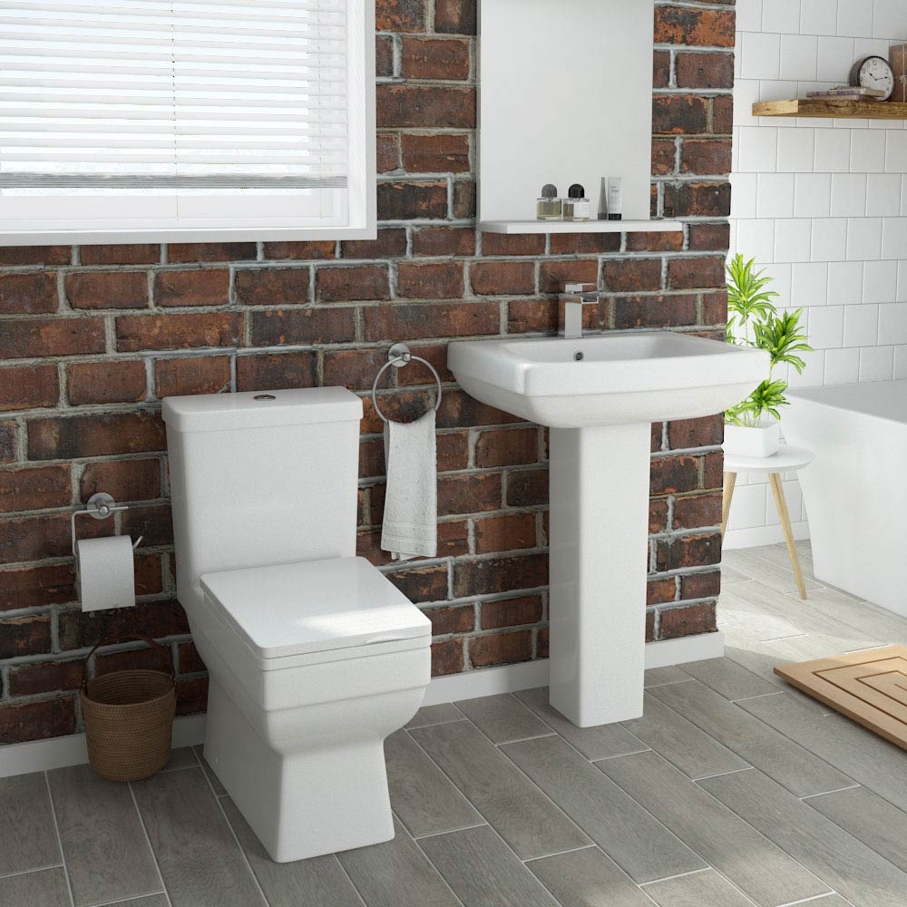 Kyoto 4-Piece Modern Bathroom Suite Large Image