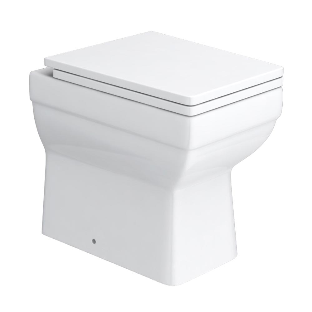 Kyoto Combined Two-In-One Wash Basin & Toilet (500mm wide x 300mm) profile large image view 2