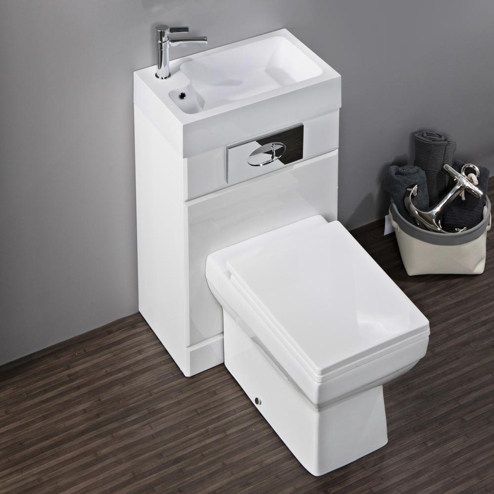 Kyoto Combined Two-In-One Wash Basin & Toilet