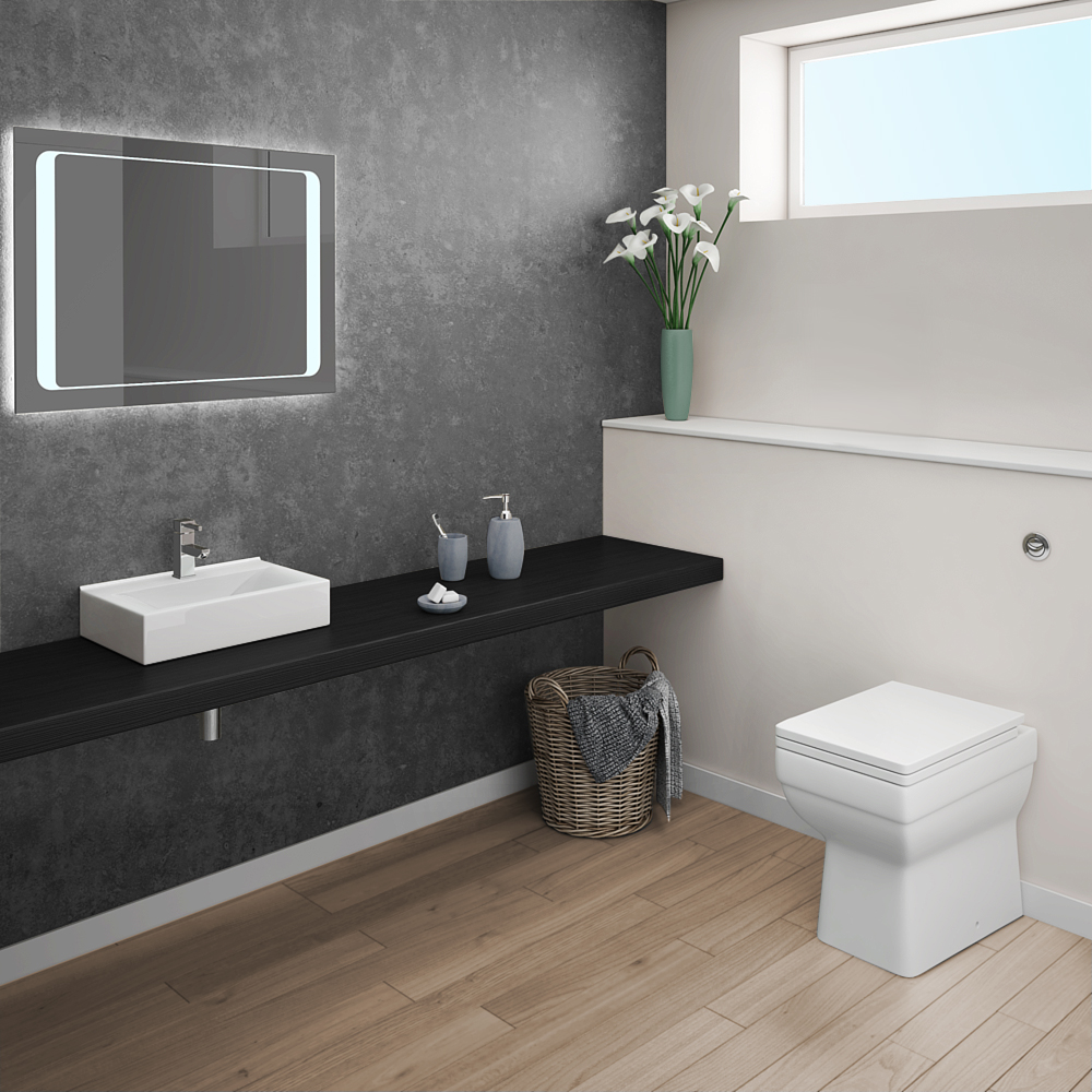 Kyoto modern bathroom suite now online at victorian for Bathroom suite ideas