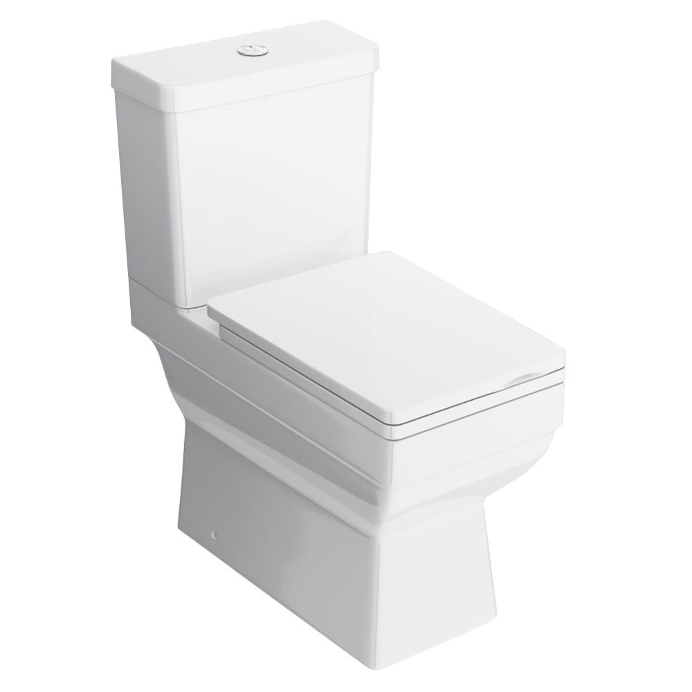 Kyoto Modern Square Toilet profile large image view 1