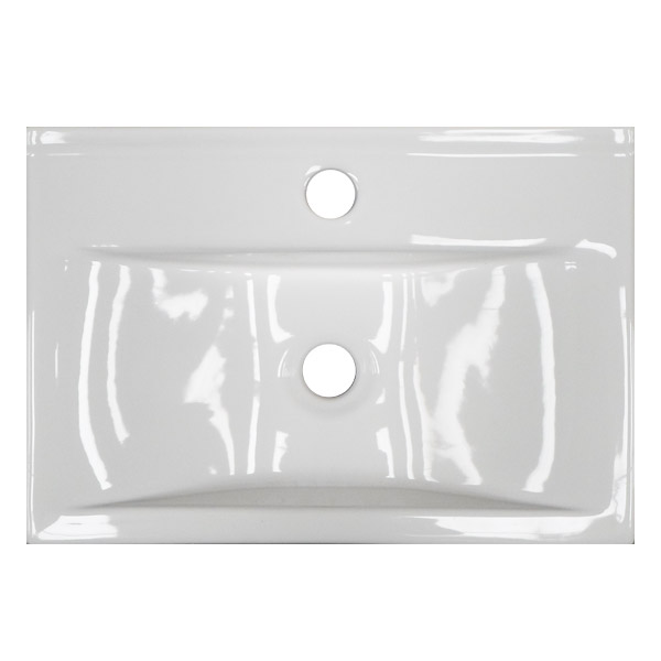 Kyoto Rectangular Wall Hung Basin 1TH - 450 x 305mm Feature Large Image