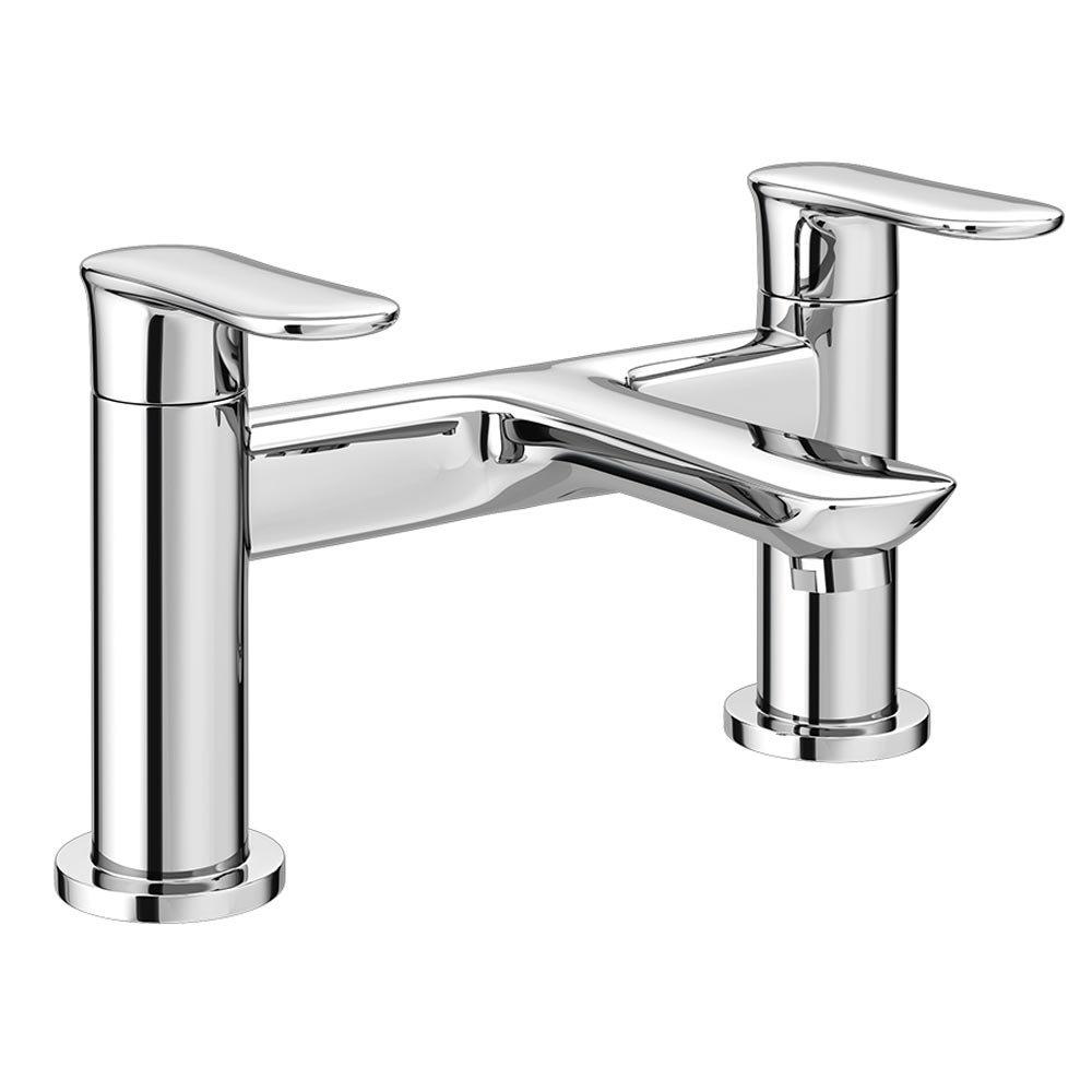 Orion Modern Bath Taps - Chrome Large Image