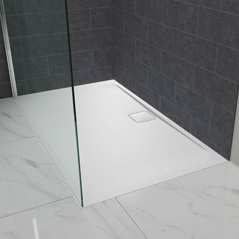Merlyn Level25 Rectangular Shower Tray profile large image view 4