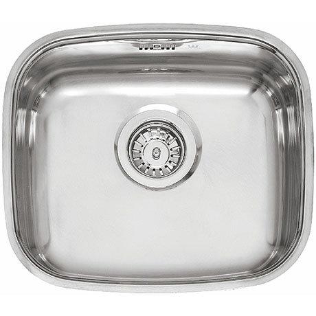 Reginox L183440OKG 1.0 Bowl Stainless Steel Inset/Undermount Kitchen Sink