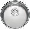 Reginox L18390OKG 1.0 Bowl Stainless Steel Inset/Undermount Kitchen Sink profile small image view 1