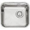 Reginox L184035OKG 1.0 Bowl Stainless Steel Inset/Undermount Kitchen Sink profile small image view 1
