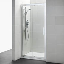 Ideal Standard Synergy Sliding Shower Door - 1200mm Medium Image