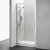 Ideal Standard Synergy Sliding Shower Door - 1200mm profile small image view 1