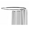 Hudson Reed Round Curtain Rail - Chrome - LA386 profile small image view 1