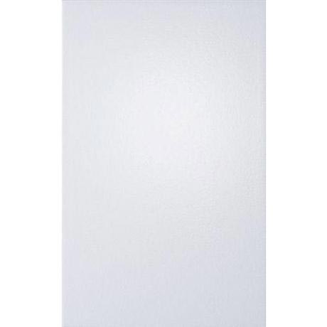 Laura Ashley - 10 Isadore Plain White Wall Gloss Tiles - 248x398mm - LA50792