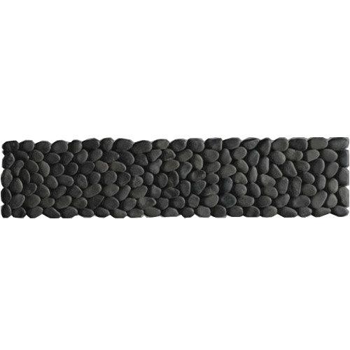 Laura Ashley - 5 Malvern Pebble Charcoal Strips - 300x70mm - LA50945 Large Image