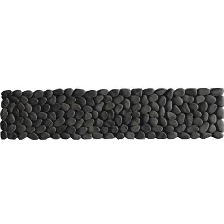 Laura Ashley - 5 Malvern Pebble Charcoal Strips - 300x70mm - LA50945