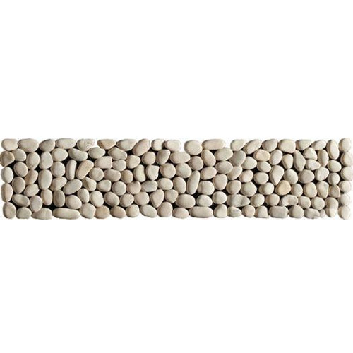 Laura Ashley - 5 Malvern Pebble Beige Strips - 300x70mm - LA50952 Large Image