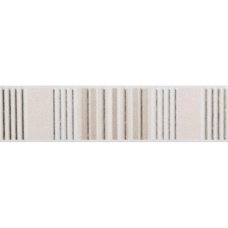 Laura Ashley - 6 Wiston Irving Stripe Cream Satin Strips - 198x50mm - LA51348