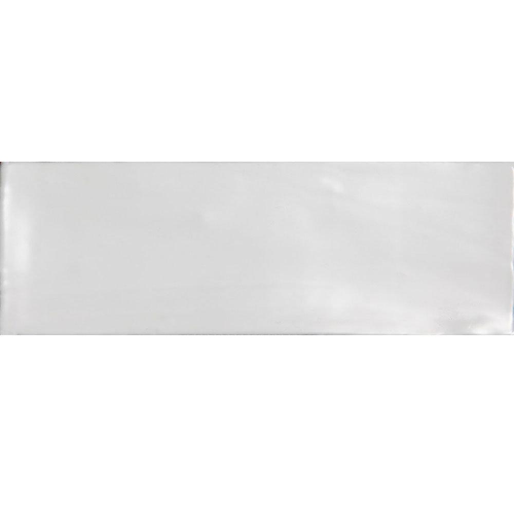 Laura Ashley - 22 Artisan White Gloss Wall Tiles - 75x300mm - LA51591 Large Image