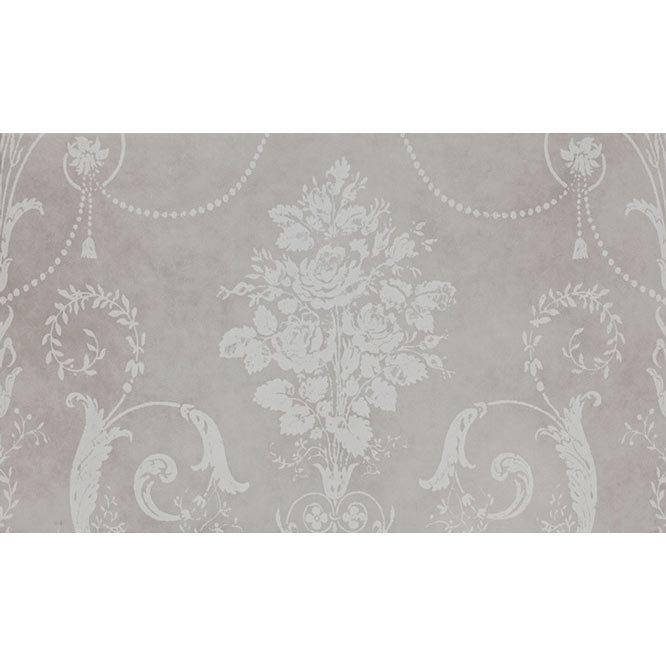 Laura Ashley Josette Dove Grey Decor Wall Tiles (Part A) - 298 x 498mm - LA51607  Feature Large Imag