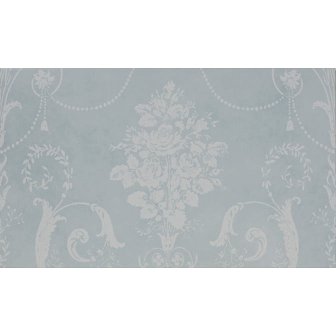 Laura Ashley Josette Duck Egg Decor Wall Tiles (Part A) - 298 x 498mm - LA51669  Profile Large Image