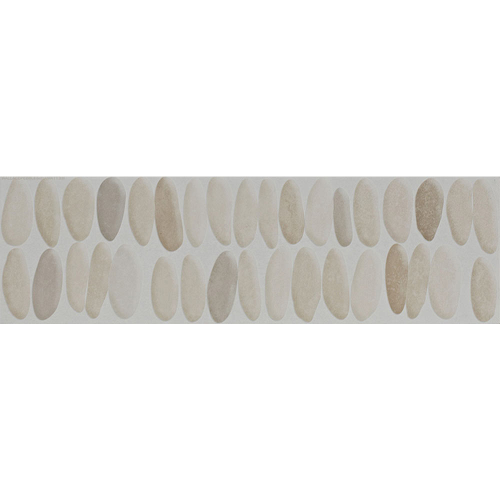 Laura Ashley Coastal Wallace Decor Natural Wall Tiles - 148 x 498mm - LA51751  Profile Large Image