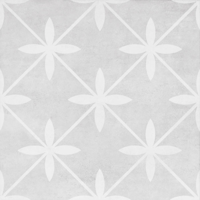 Laura Ashley Wicker Dove Grey Floor Tiles - 331 x 331mm - LA51997  Profile Large Image