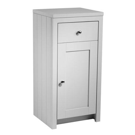 Tavistock Lansdown 400mm Freestanding Storage Unit - Pebble Grey