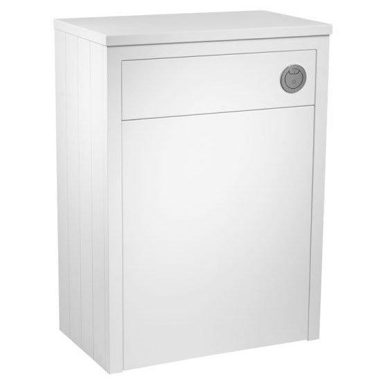 Tavistock Lansdown 600mm Back to Wall WC Unit - Linen White Large Image