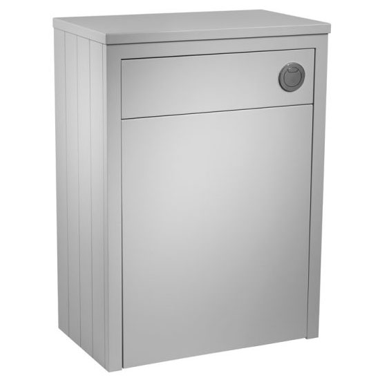 Tavistock Lansdown 600mm Back to Wall WC Unit - Pebble Grey Large Image