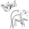 Lancaster Traditional Tap Package (Bath + Basin Tap) profile small image view 1