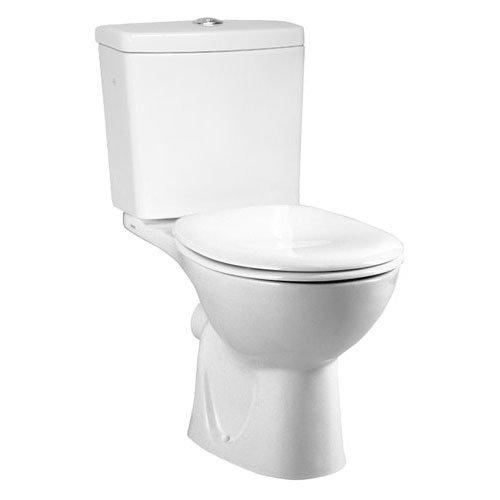 Vitra - Layton Close Coupled Toilet (Open Back) Large Image